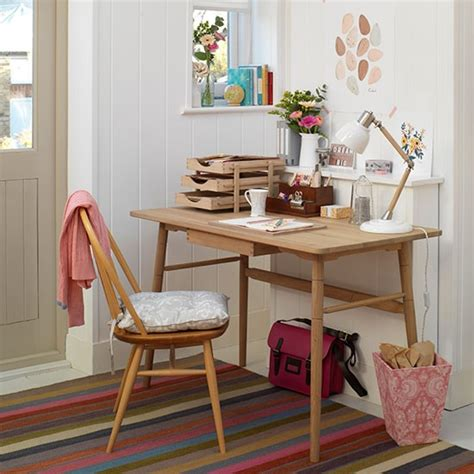 white country desk white home office with retro style desk decorating