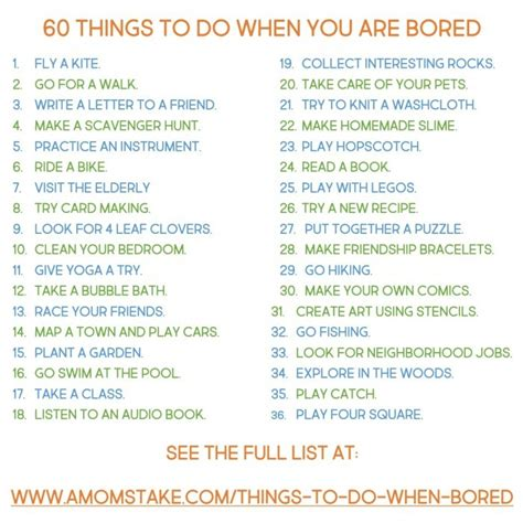 for to do 60 things to do when you re bored madetolastwm a s take