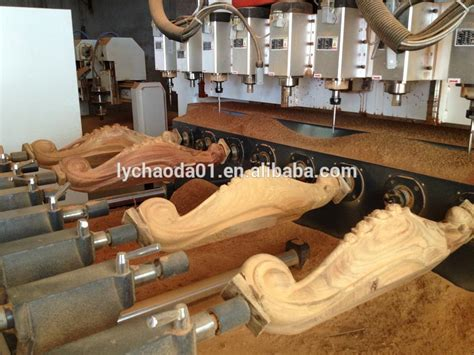 production woodworker furniture legs mass production cnc wood carving machine