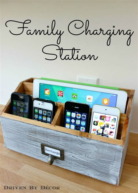 diy charging station make your own diy charging station