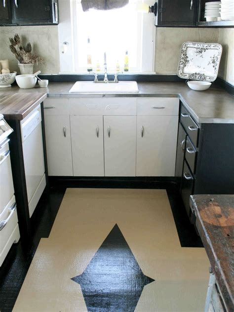 painted kitchen floor ideas ideas for refacing kitchen cabinets hgtv pictures tips hgtv