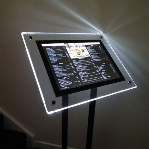 outdoor displays illuminated signs outdoor menu display stands