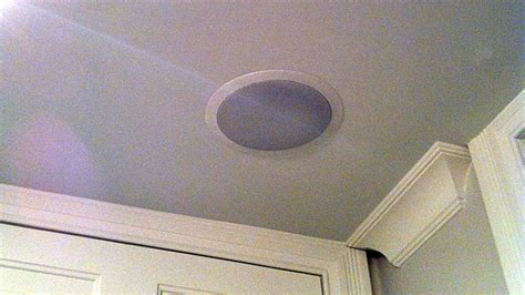 in ceiling speakers installation install ceiling speakers and enjoy throughout your home