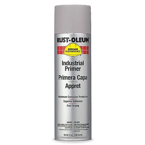 spray paint with primer rust oleum v2182838 enamel spray primer grey primer