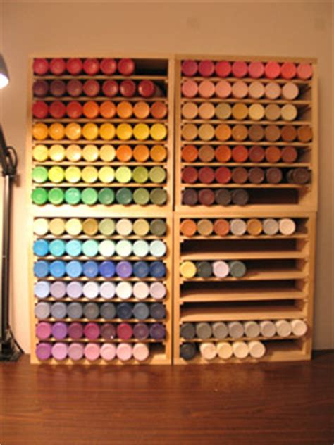 acrylic paint storage the idea for the acrylic paint storage it s more