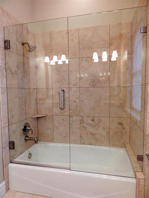 tub shower doors frameless frameless shower doors cascade glass
