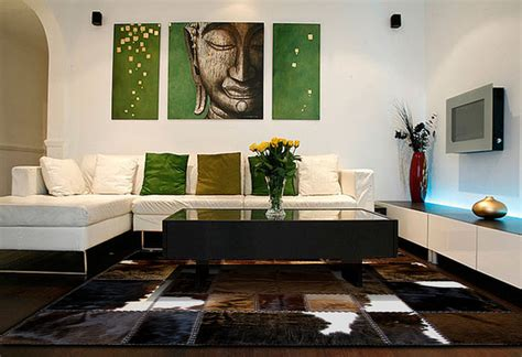 cowhide home decor cowhide patchwork rugs in contemporary home decor modern