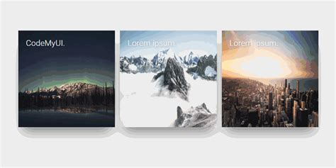 card blogs rotating name hover effect on image codemyui