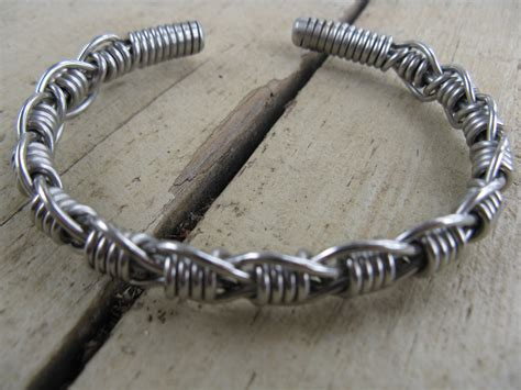 bracelet wire for s stainless steel bent wire woven bracelet