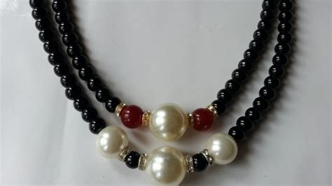 jewelry how to make how to make simple mixed bead necklace diy crafts