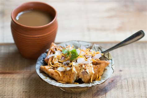 Kitchen Tea Food Ideas matar samosa chaat recipe a delicious evening tea time