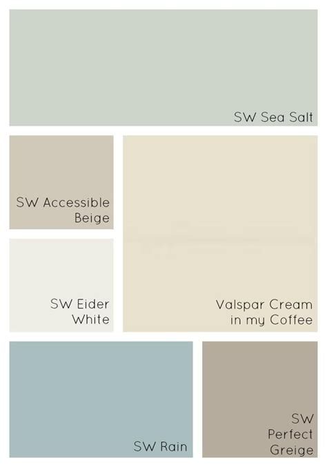 interior home color schemes 25 best ideas about cottage paint colors on