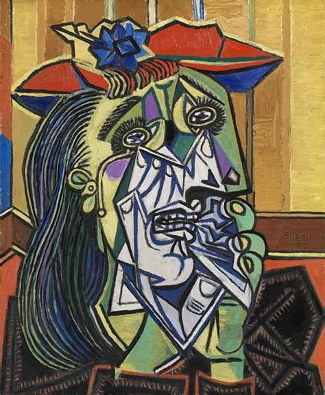 picasso emotion paintings the visual elements line