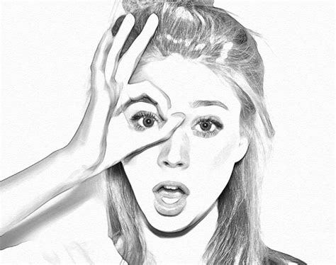 drawing in photoshop how to create a realistic pencil sketch effect in photoshop