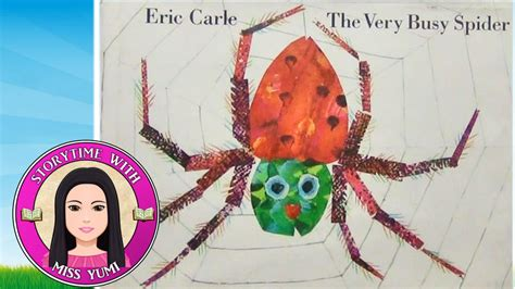 spider picture books the busy spider by eric carle stories for