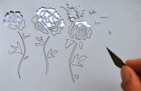 paper cutting craft tutorial make stunning papercut wedding invitations tuts crafts