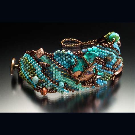 peyote stitch beading free form peyote stitch bead weaving beading