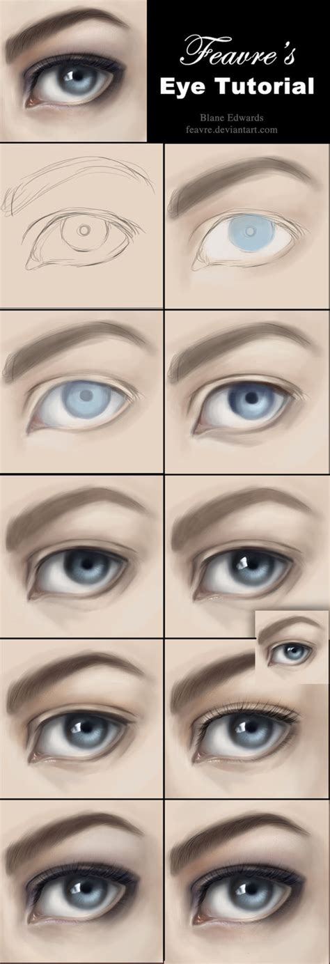 painting tutorial how to paint realistic tutorial by feavre on deviantart