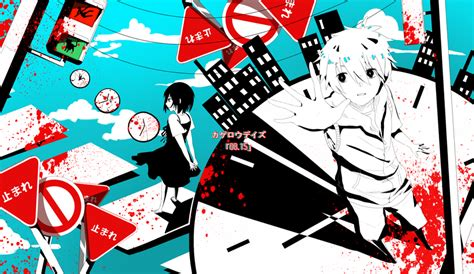 kagerou daze heat days on vocaloid anime guys and actors