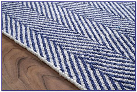 white and blue striped rug blue and white living room