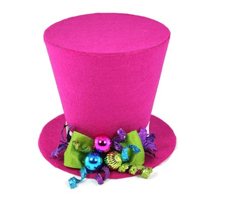 top hat tree topper tree topper bright colored tree