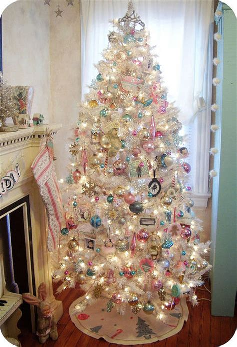 tree decorated white white decorated tree pictures photos and
