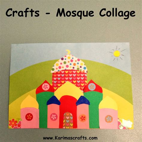 islamic crafts for 13 creative mosque crafts to make with in the playroom