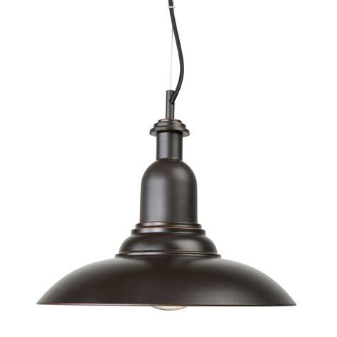 bunnings lights brilliant 35cm 240v 60w bronze pendant light