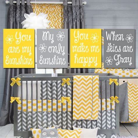 you are my crib bedding yellow gray you are my wall artwork