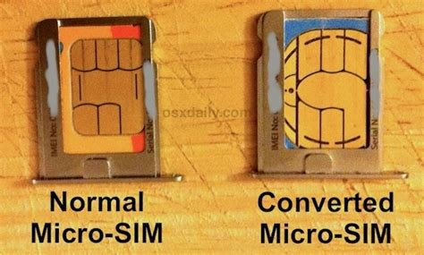 how to make sim card into micro sim convert a sim card to micro sim by cutting with scissors