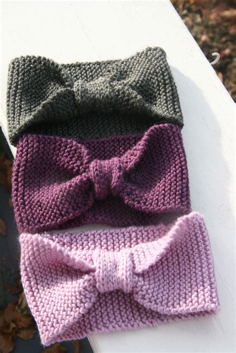easy knit baby headband headbands wraps also known as earwarmers