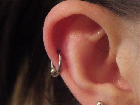 gallery for gt helix ear piercing