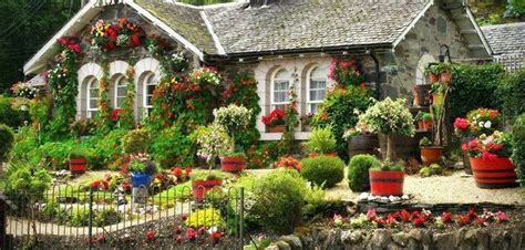 beautiful cottage beautiful cottage flower garden interior decorating and