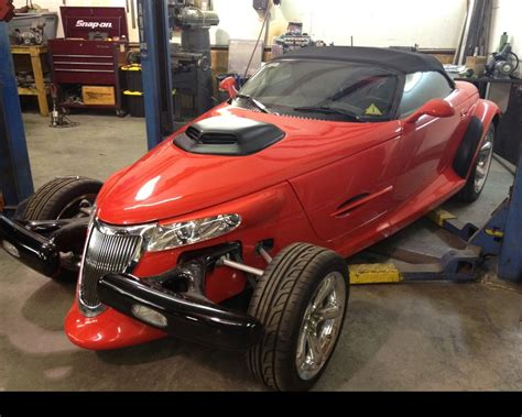 Plymouth Prowler Horsepower by Project Growler Tuner Drops A 6 1 Liter Hemi Srt8 Into A