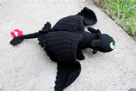 Craftdrawer Crafts Free Crochet Toothless Pattern From