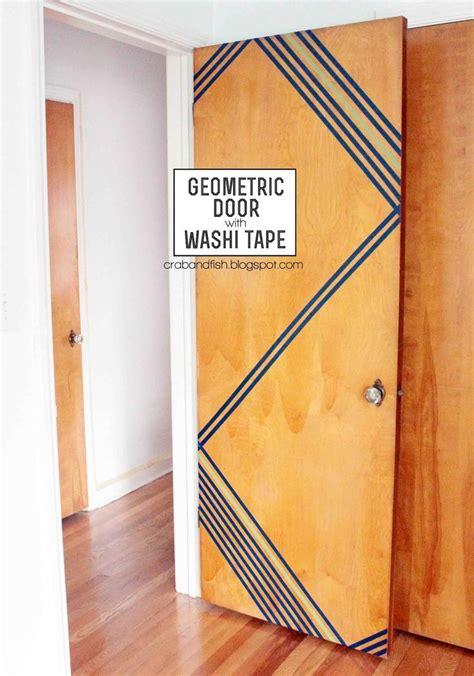 how to decorate your bedroom door 25 best ideas about washi door on washi