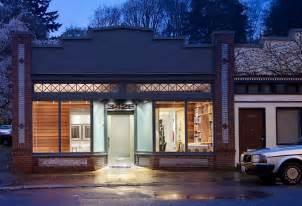storefront designer storefront remodeled into live work place with modern
