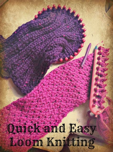 knitting loom stitches 25 unique loom scarf ideas on loom knitting