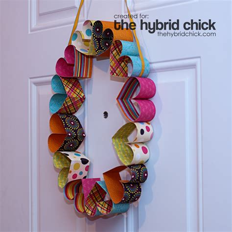 paper wreath craft paper wreath 171 the hybrid crafts stalker