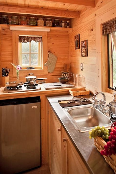 kitchen design for small houses tiny house kitchen at the lodge thinkfwd