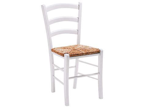 chaise en h 234 tre massif avec assise en paille paysanne coloris teint 233 blanc vente de chaise