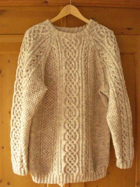 knitted sweaters 25 best ideas about aran sweaters on aran