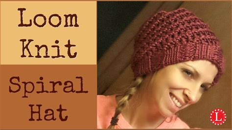 how to loom knit a hat loom knit hat how to make easy spiral hats with