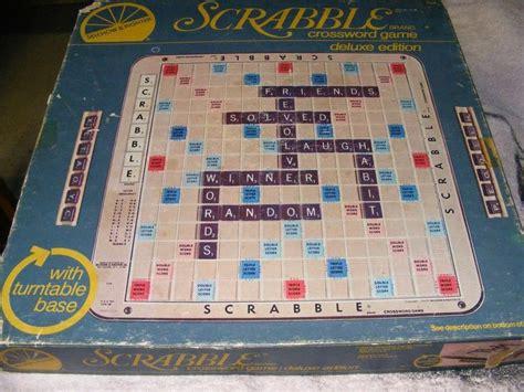 ebay scrabble vintage board vintage scrabble board ebay