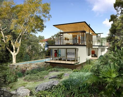 sloping block house plans house designs brisbane sloping block home design and style