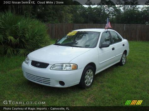 2002 Nissan Sentra Xe cloud white 2002 nissan sentra xe interior