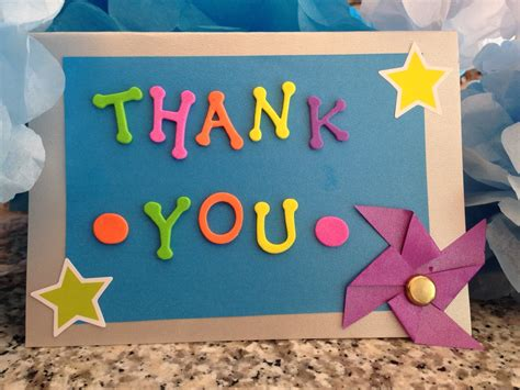 thank you cards can make say thank you artsnsmarts