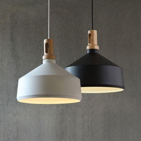 pendant light contemporary contemporary pendant light funnel wooden ceiling lighting