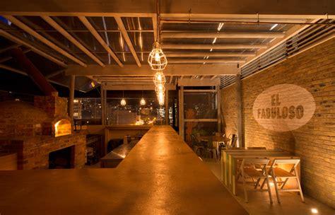 woodwork restaurant el fabuloso mema arquitectos restaurant bar design