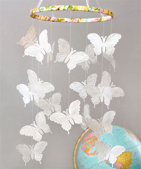 paper butterfly craft ideas paper butterfly mobile favecrafts
